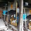 夏休みになったので、外倉庫の大掃除!