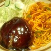 札幌市 ハンバーグ カリー軒 / 肉汁が凄いハンバーグ