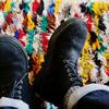 雨の日の革靴