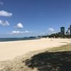 遠浅の静かな海!アラモアナビーチパーク!