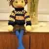 編み人形のあっくん