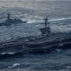 米が北への圧力を強化…空母、朝鮮半島沖へ