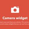 【IFTTT初級】Camera Widget【3分で解説してみた】