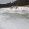 ボコボコワカサギ釣行2/24#12in大別川、別寒辺牛川