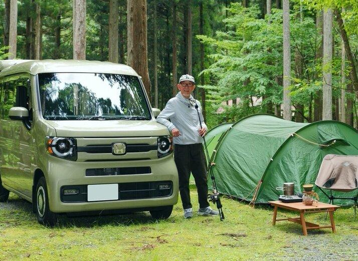 DIYで車内もカスタム!70歳YouTuberのN-VANアウトドアライフ!(前編)
