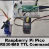 Raspberry Pi Pico でFutabaコマンドサーボRS304MDを動かす(VSC + C言語)