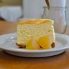 浜町の「おやつのこぼく」でチーズケーキ。