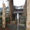 習焼神社の境内社の御柱