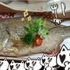 鯛の1匹丸ごと食い!!&オオカミさん♪