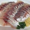 【あじ短冊をおいしく食べるための方法】和歌山県産の真アジが豊漁!メチャ安なので刺身で食べました!