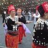 芝公園でカチン民族のマノー祭り