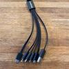 様々な種類の充電ケーブルが一つに chafon USB 6 in 1 Multi USB Charging Cable シャフォン 6 in 1 マルチ USB ケーブル  レビュー