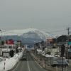 寒風山を仰ぎ見て