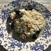 残り物でムール貝のクリームリゾット