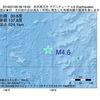 2016年07月26日 09時19分 本州南方沖でM4.6の地震