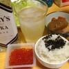 【今日の食卓】すだちとウォッカのカクテル+タイ料理のカイパロー