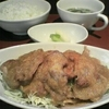 ぶた焼き並、ご飯並@豚肉専門店 BOOMIN(ブーミン)