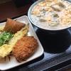 牡蠣づくし玉子あんかけ@丸亀製麺 札幌栄町店