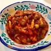 ミックスビーンズのトマト煮 & マッシュポテト