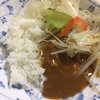 【トップバリュ】の1パック54円のカレーで体に良いか悪いかよくわからない夕食。