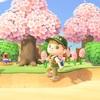 <あつ森>桜舞い散るつり大会 マイルの為にも参加必須