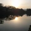 《琵琶湖一周の旅》3.スタート地点、早朝の彦根にて琵琶湖を目撃