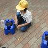 2年生:生活 ミニトマトの種をまく