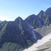 穂高連峰~夏の北穂高岳・登山道のすれ違いを侮るな