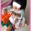 ☆ おもちゃのおおきなブロックを組み立てる 《1歳9ヶ月》