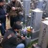 平木収さんのお墓参り