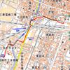 姫路モノレール軌道跡とモノレール展示室