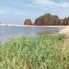 海の京都でキャンプ!ダイナミックな立岩をのぞむ「てんきてんき村オートキャンプ場」