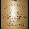 Cuvee William Deutz Brut Millesime 2002