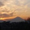 3月3日の夕景富士&今日の独り言