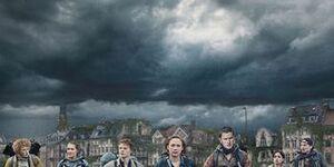 Netflix新作【ザ・レイン】ウイルス感染系の終末ドラマ感想あらすじ:雨に触れたら終わり