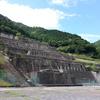 神子畑選鉱場跡、奥津湖