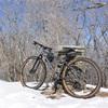 【軟式自転車部】雪の龍神山でマウンテンバイク乗ってきた(和歌山県田辺市龍神村)