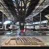 立派な造りのバルセロナ・フランサ駅舎
