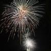 大沼湖水まつりの花火…