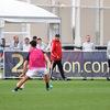 ラムジー、Bチームやプリマベーラとの混合試合でゴールによるアピールを行う