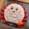 【星のカービィ立体ケーキ☆】息子の誕生日に作ってみました♪