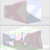 透視図法・パースと3D図形モデルと積木の話