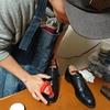 うん、靴磨きって楽しい!!