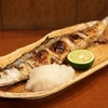 秋刀魚の季節、塩を振って網で焼き熱いところを頂き!惜しいノンアルビールが欲しかった!