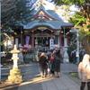山王稲穂神社へ初詣に行きました