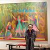 日曜美術館「青いケシを描く~洋画家・入江一子 101歳のアトリエ~」