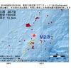 2016年08月09日 03時30分 奄美大島近海でM2.8の地震