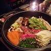 中年男性がSouth Kensingtonの『東京すき焼き亭』ですき焼き吸い込むブログ、H.I.S.のクーポン使ってな!