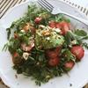 毎日苺サラダ、ホワイトセージ+コーヒー