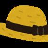 帽子のかぶりわけ